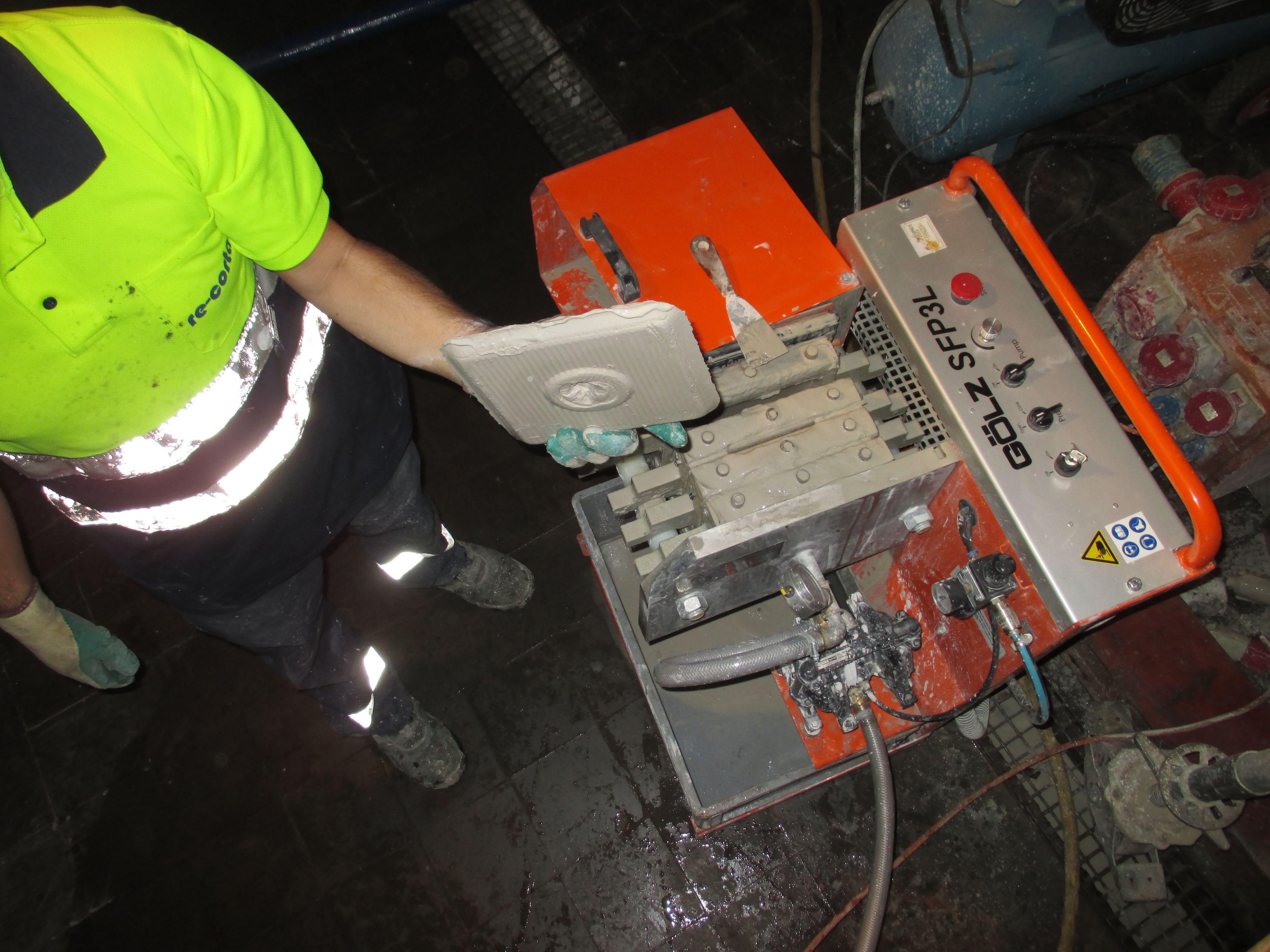 Máquina de lodos RE-CORTA
