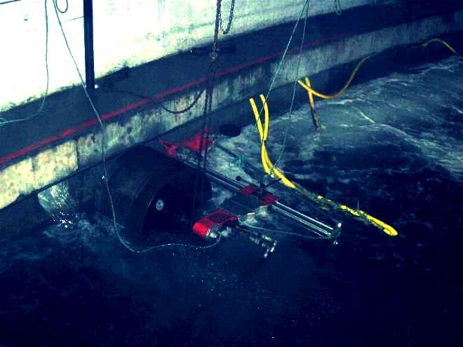 Perforaciones en piscifactoría arousana