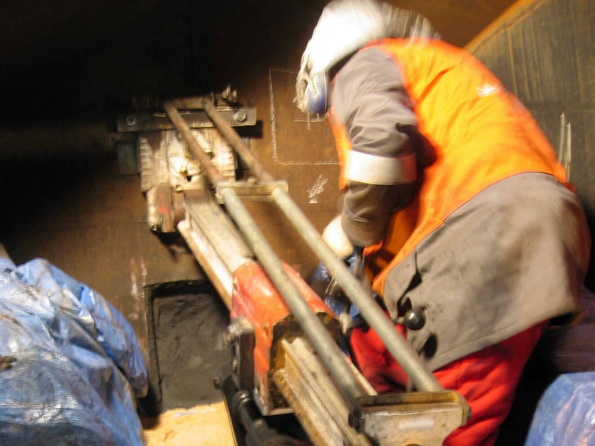 Trabajos de perforación en Rumanía